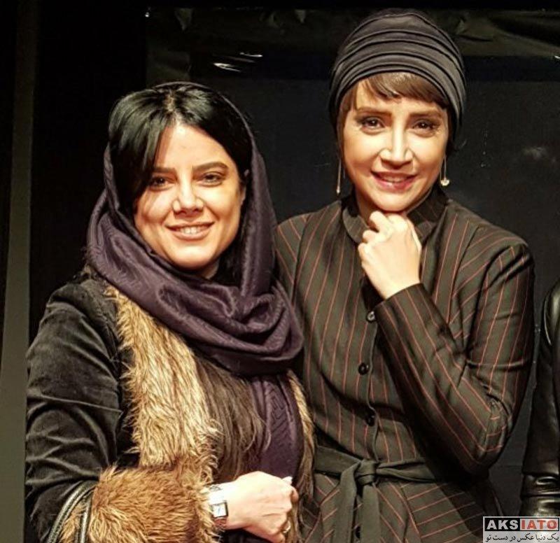 بازیگران بازیگران زن ایرانی  معصومه رحمتی در اجرای نمایش چشم ها (3 عکس)