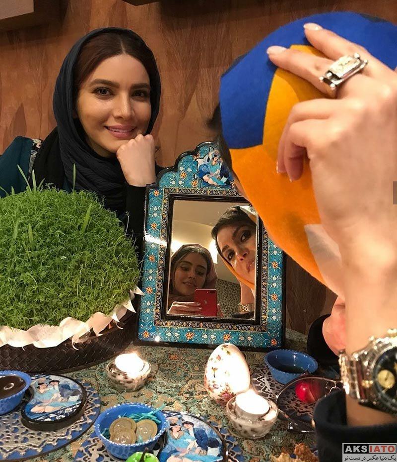بازیگران بازیگران زن ایرانی  عکس های متین ستوده ویژه عید نوروز 97