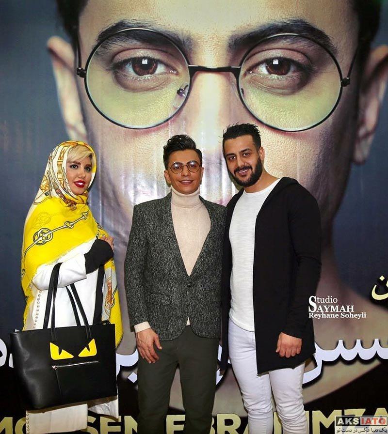 خوانندگان  اولین کنسرت محسن ابراهیم زاده در تهران (5 عکس)