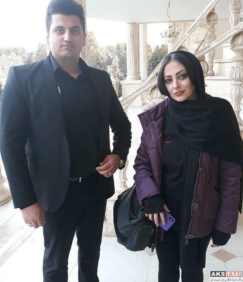 بازیگران بازیگران زن ایرانی  عکس های نفیسه روشن در اسفند ماه ۹۶ (۶ تصویر)