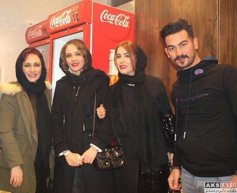بازیگران بازیگران زن ایرانی  نگین صدق گویا و خواهرش در افتتاحیه هابیت برگر (۴ عکس)