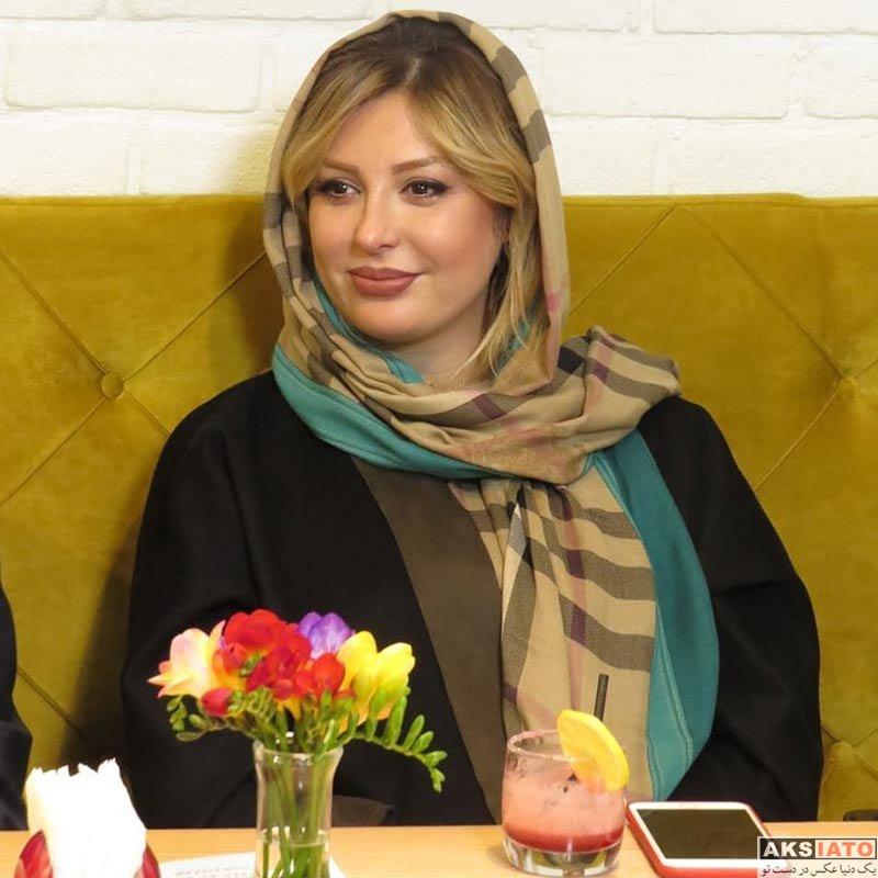 بازیگران بازیگران زن ایرانی  نیوشا ضیغمی در رویداد محصولات زیبایی لابورن (5 عکس)