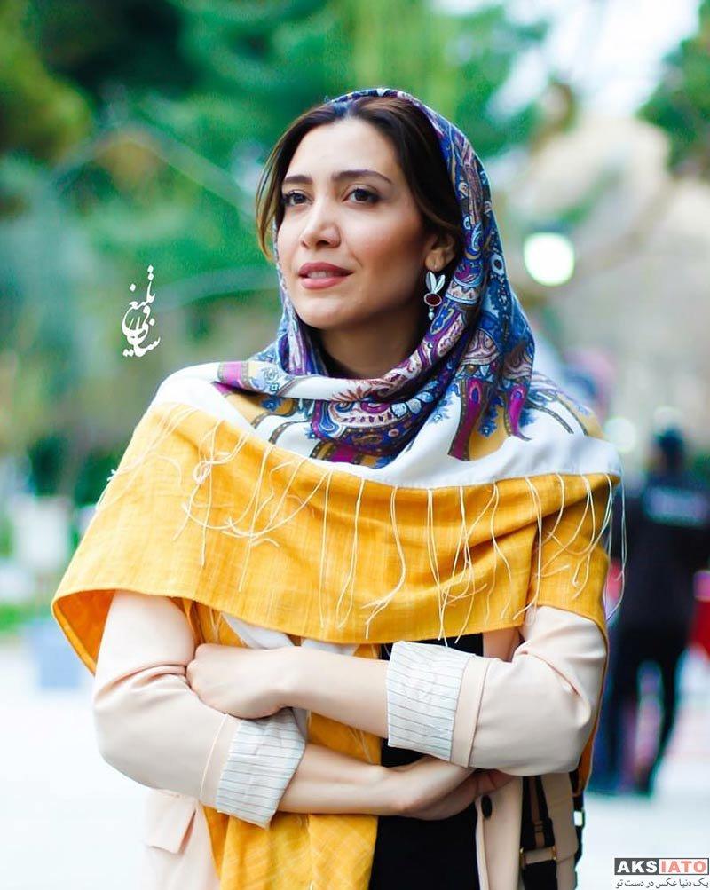 بازیگران بازیگران زن ایرانی  نیکی مظفری در اختتامیه جشنواره بین المللی مد و لباس فجر (۴ عکس)