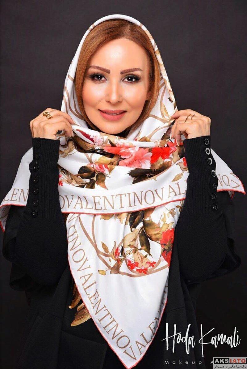 بازیگران بازیگران زن ایرانی  عکس های پرستو صالحی در اسفند ماه ۹۶ (10 تصویر)