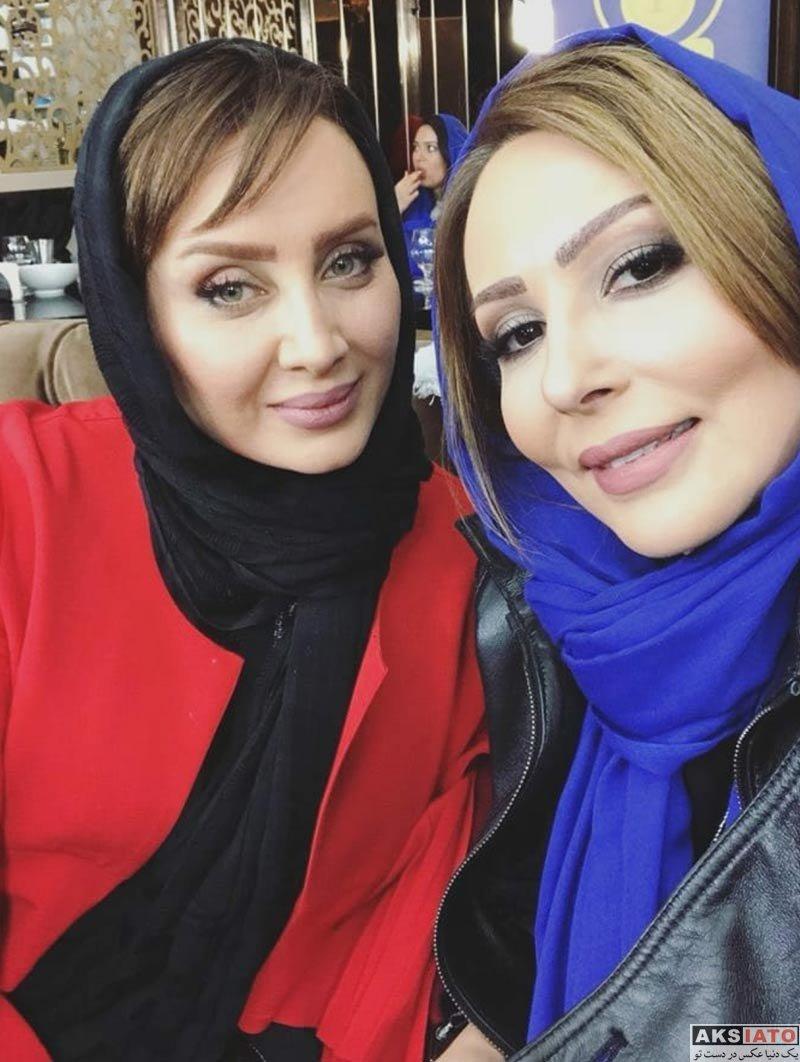 بازیگران بازیگران زن ایرانی  عکس های پرستو صالحی ویژه دربی 86