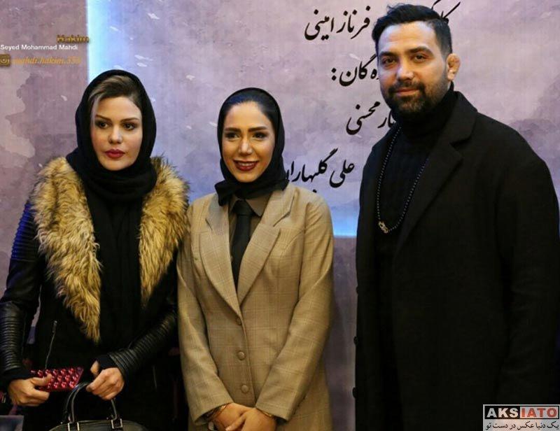 بازیگران بازیگران زن ایرانی  رز رضوی در اکران خصوصی فیلم اسنیف (4 عکس)