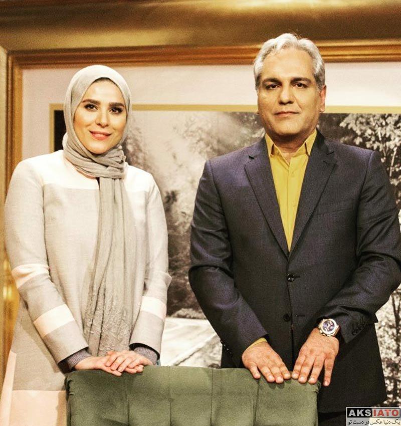 بازیگران بازیگران زن ایرانی  سحر دولتشاهی در برنامه دورهمی (4 عکس)