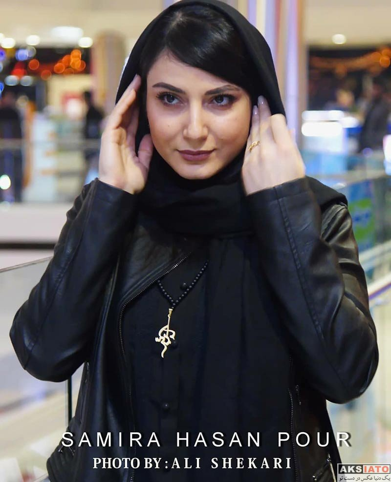بازیگران بازیگران زن ایرانی  سمیرا حسن پور در اکران مردمی فیلم هاری (5 عکس)