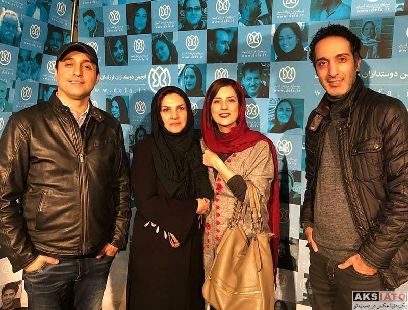 بازیگران بازیگران زن ایرانی  سارا بهرامی جشن دوستاداران بچه های آسمان (3 عکس)