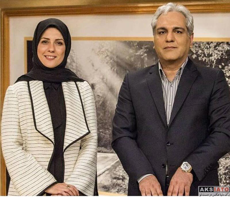 بازیگران بازیگران زن ایرانی  سارا بهرامی در برنامه دورهمی (2 عکس)