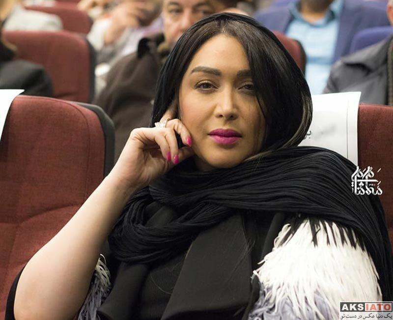 بازیگران بازیگران زن ایرانی  سارا منجزی در افتتاحیه پردیس سینمایی گلشن (5 عکس)