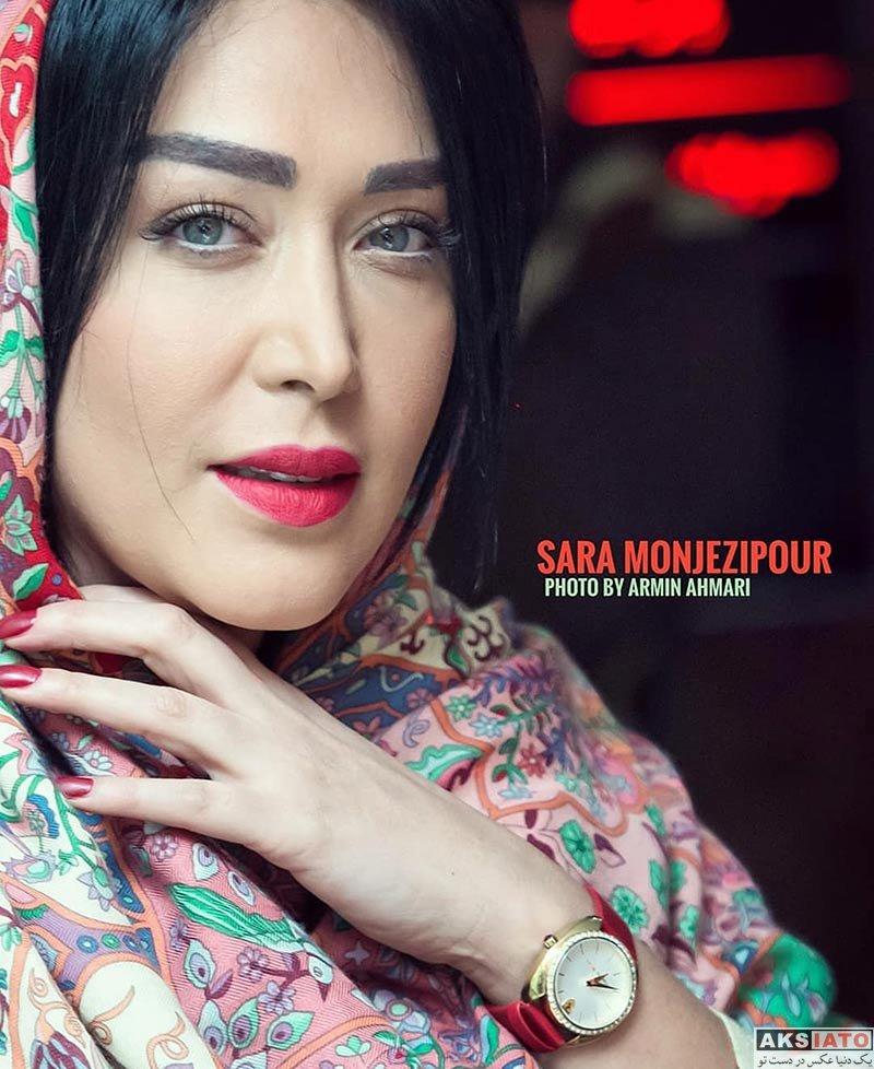 بازیگران بازیگران زن ایرانی  عکس های سارا منجزی در اسفند ماه ۹۶ (8 تصویر)