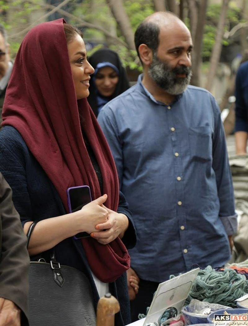بازیگران بازیگران زن ایرانی  شبنم فرشادجو در برنامه نوروزگاه تهران (4 عکس)