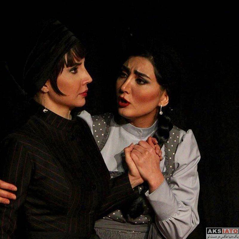 بازیگران بازیگران زن ایرانی  شبنم قلی خانی در نمایش چشم ها (4 عکس)