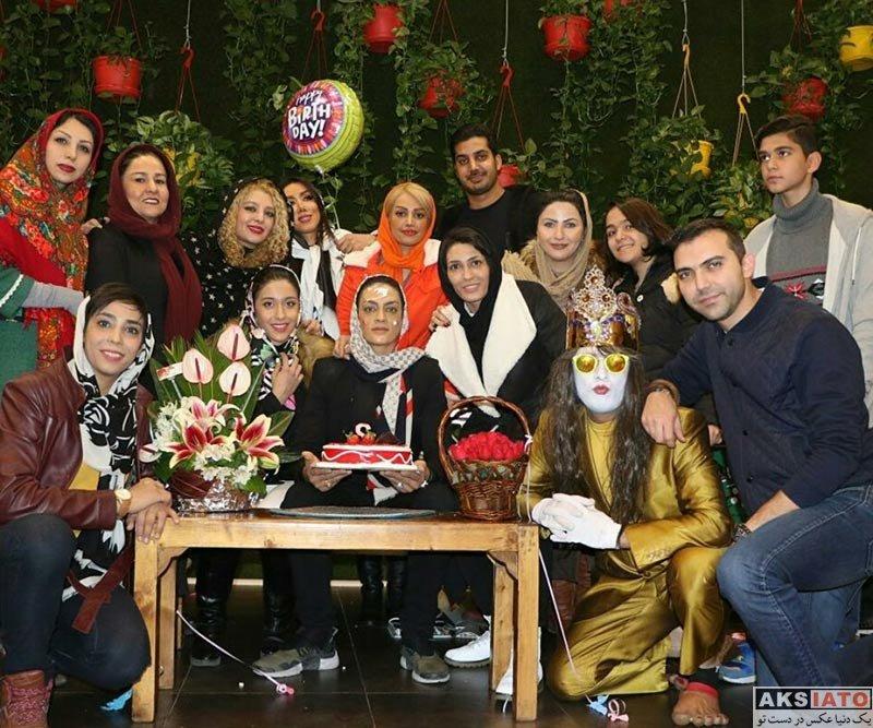 ورزشکاران ورزشکاران زن  جشن تولد شهربانو منصوریان با حضور دوستانش (4 عکس)