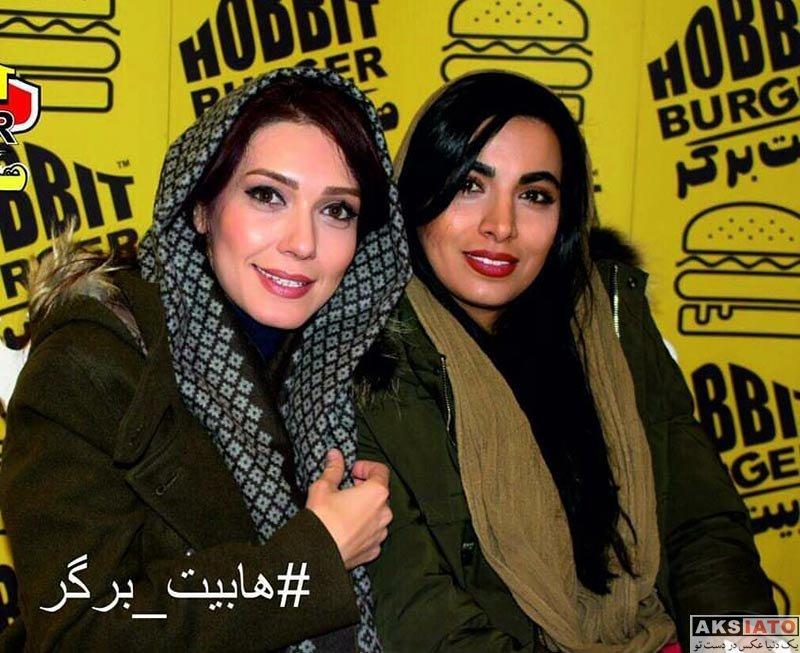 بازیگران بازیگران زن ایرانی  شهرزاد کمال زاده در افتتاحیه هابیت برگر (۴ عکس)
