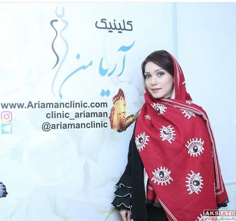 بازیگران بازیگران زن ایرانی  شهرزاد کمال زاده و فلور نظری در کلینیک زیبایی آریامن (3 عکس)