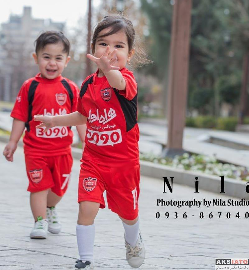 ورزشکاران ورزشکاران مرد  عکس های همسر علی علیپور و پسرش ویژه دربی 86