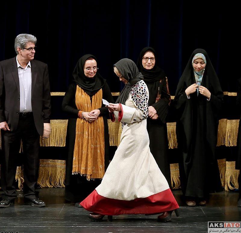 بازیگران بازیگران زن ایرانی  شراره رخام در اختتامیه جشنواره بین المللی مد و لباس فجر (4 عکس)