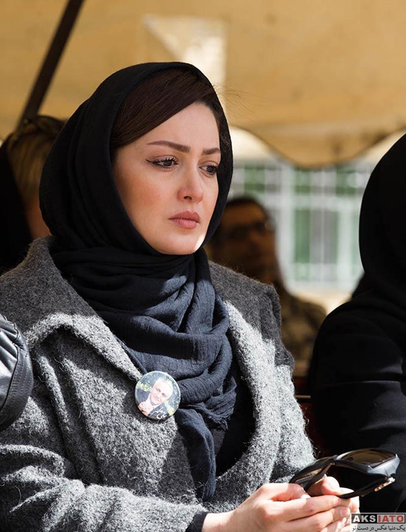 بازیگران بازیگران زن ایرانی  شیلا خداداد در مراسم اولین سالگرد درگذشت علی معلم (6 عکس)