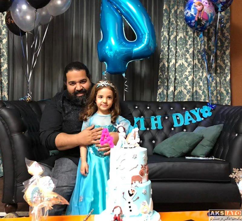 خوانندگان  جشن تولد 4 سالگی تیارا دختر رضا صادقی (3 عکس)