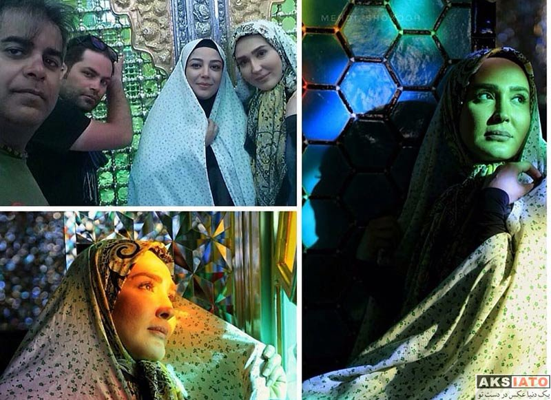 بازیگران بازیگران زن ایرانی  عکس های زهره فکورصبور در اسفند ماه ۹۶ (۸ تصویر)