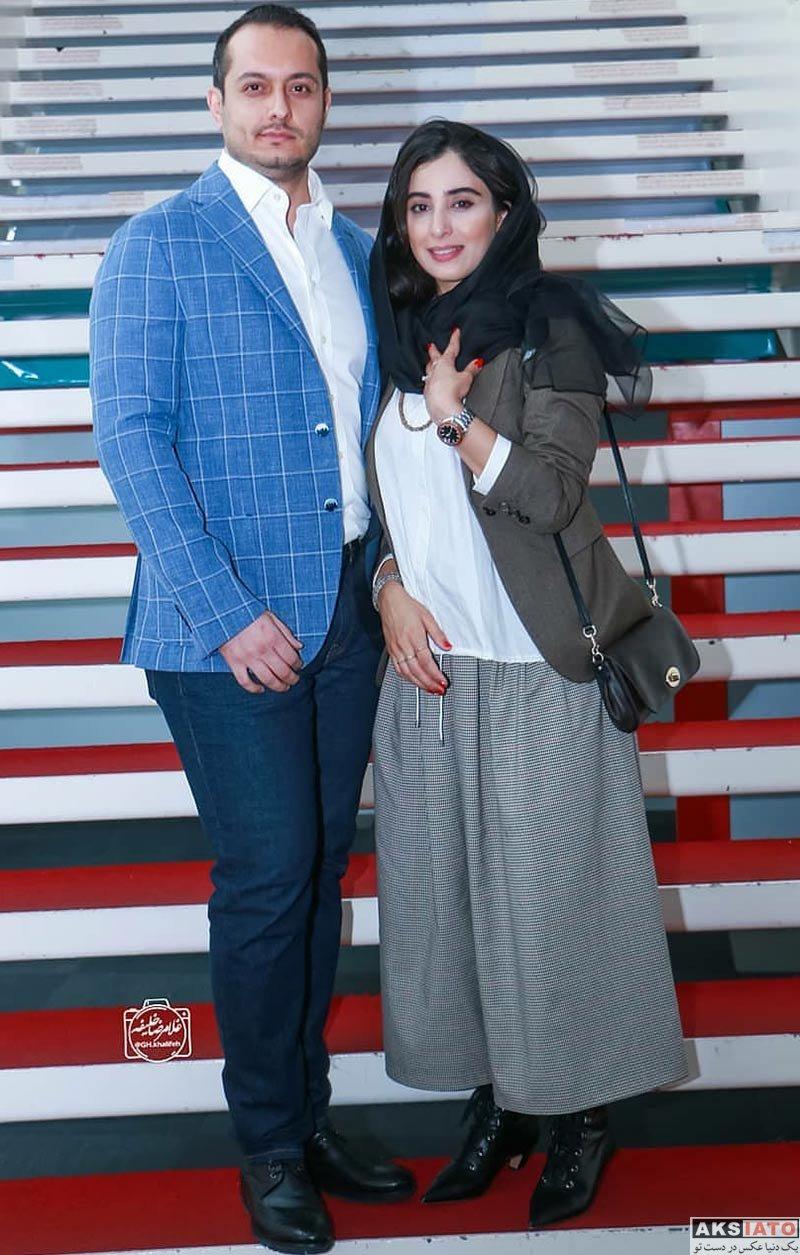 جشنواره جهانی فیلم فجر  آناهیتا افشار و همسرش در 36مین جشنواره جهانی فیلم فجر (۴ عکس)