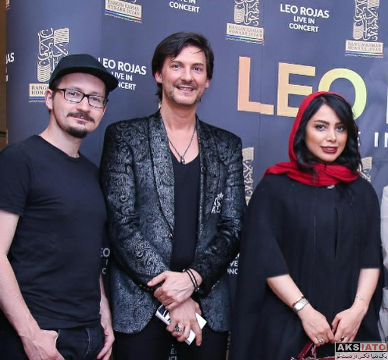 بازیگران بازیگران زن ایرانی  آیدا جعفری در کنسرت لئو روخاس (4 عکس)