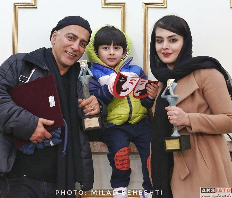 خانوادگی  دو عکس جدید حمیدرضا آذرنگ و همسرش ساناز بیان
