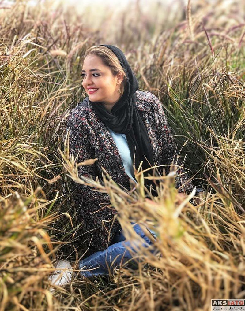 بازیگران بازیگران زن ایرانی  نرگس محمدی و خواهرش در جزیره کیش (3 عکس)