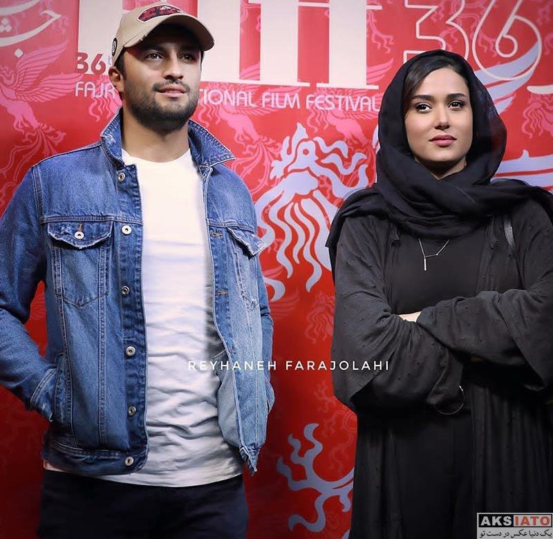 بازیگران جشنواره جهانی فیلم فجر  امیر جدیدی در سی و ششمین جشنواره جهانی فیلم فجر (3 عکس)