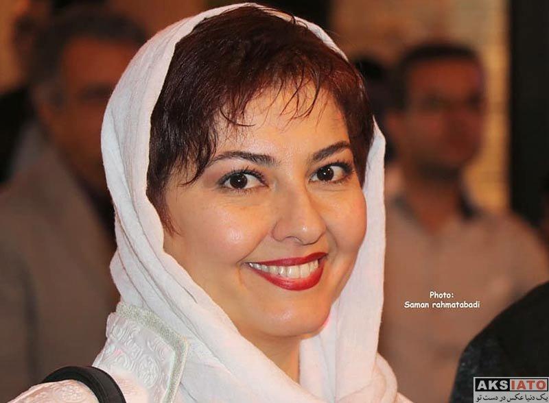 بازیگران بازیگران زن ایرانی  آناهیتا همتی در جشن تولد ۸۸ سالگی محمدعلی کشاورز (4 عکس)