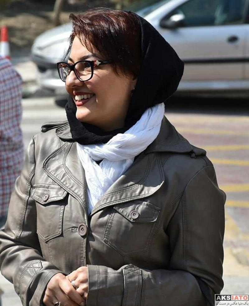 بازیگران بازیگران زن ایرانی  آناهیتا همتی در بازارچه خیریه رعد (4 عکس)