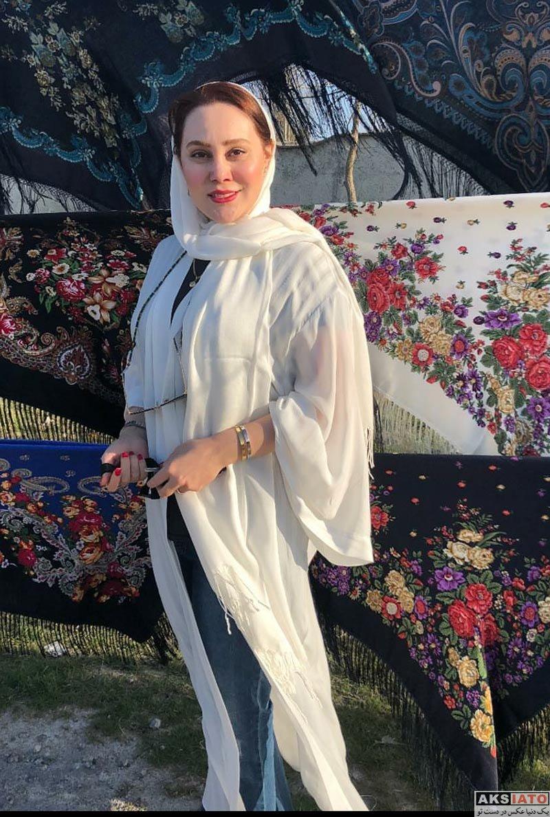 بازیگران بازیگران زن ایرانی  عکس های آرام جعفری در فروردین ماه ۹۷ (6 تصویر)