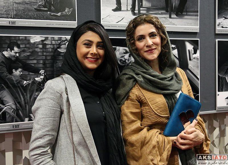جشنواره جهانی فیلم فجر  آزاده صمدی در سی و ششمین جشنواره جهانی فیلم فجر (۶ عکس)