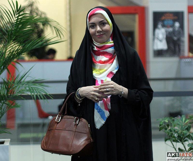 جشنواره جهانی فیلم فجر  آزاده نامداری در سی و ششمین جشنواره جهانی فیلم فجر (4 عکس)