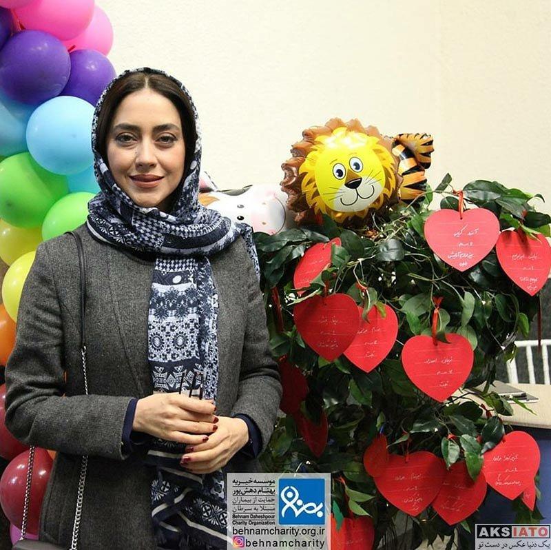 بازیگران بازیگران زن ایرانی  بهاره کیان افشار در جشنواره موسسه خیریه بهنام دهشپور (4 عکس)