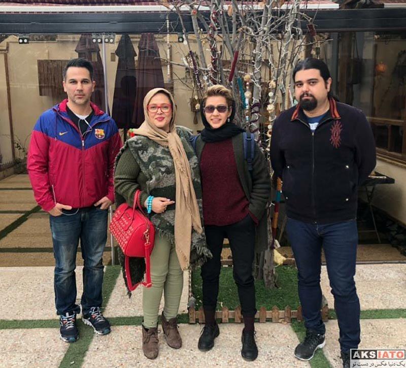 بازیگران بازیگران زن ایرانی  بهاره رهنما به همراه دخترش در نیشابور (3 عکس)