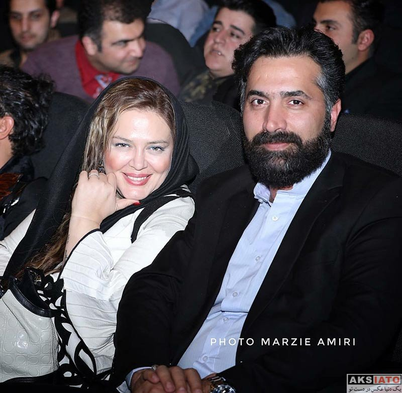 بازیگران بازیگران زن ایرانی  بهاره رهنما و همسرش در کنسرت علی زندوکیلی (4 عکس)