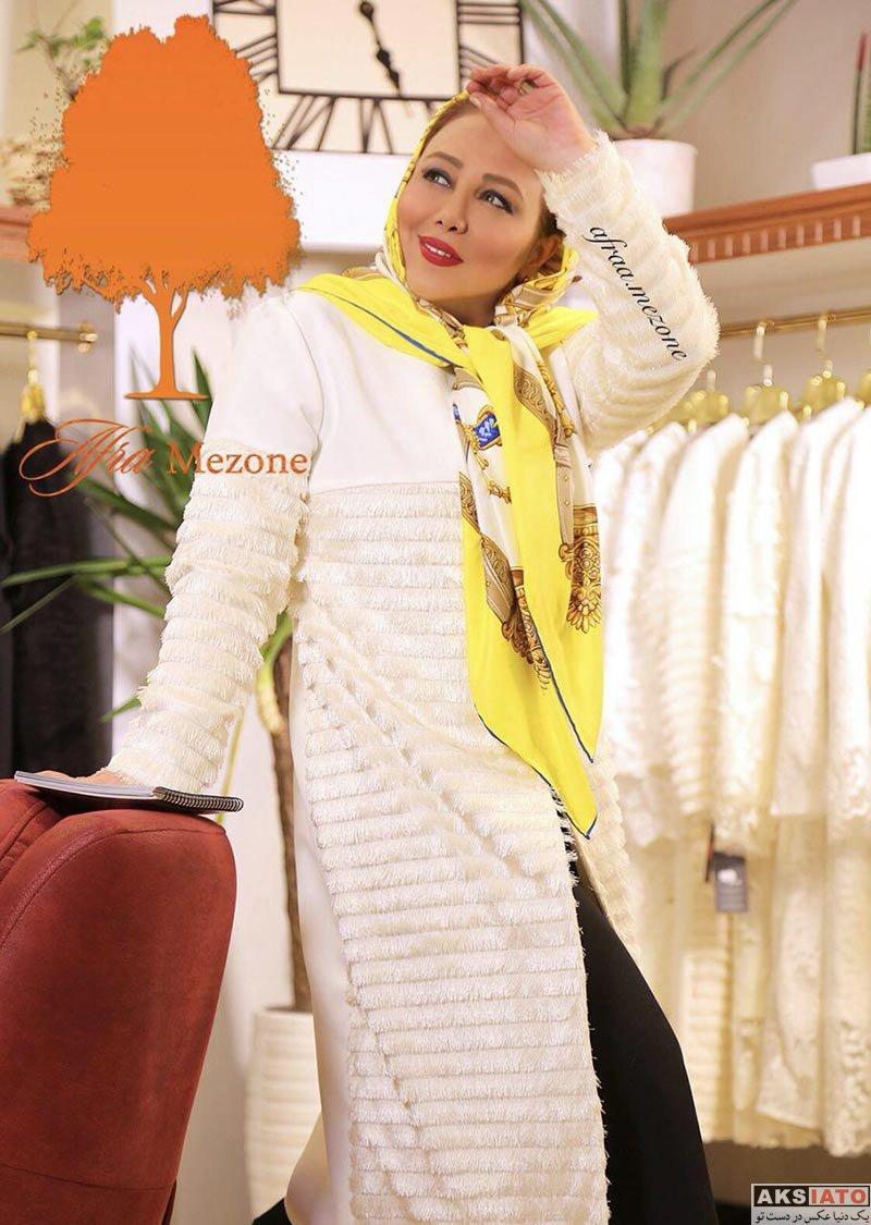 بازیگران بازیگران زن ایرانی  مدلینگ بهنوش بختیاری برای مزون لباس افرا (5 عکس)