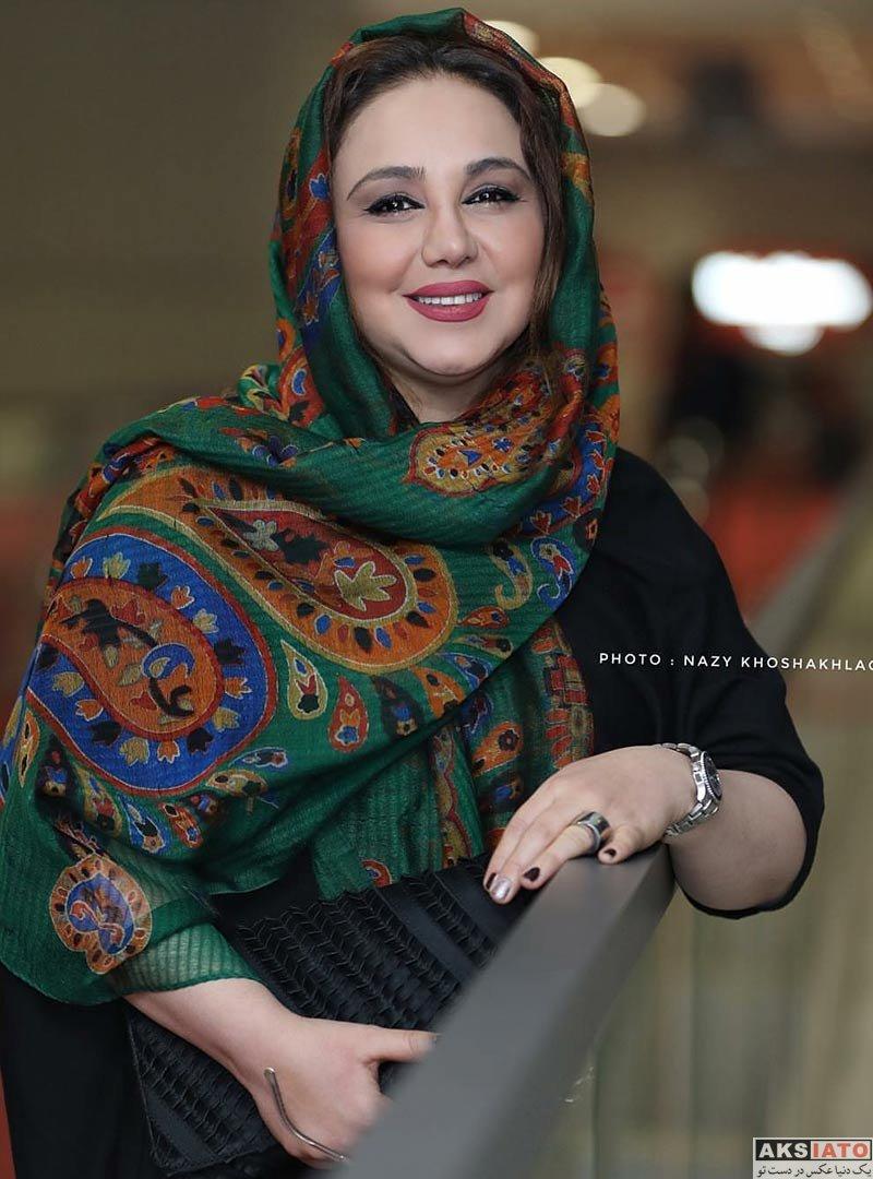 جشنواره جهانی فیلم فجر  بهنوش بختیاری در سی و ششمین جشنواره جهانی فیلم فجر (5 عکس)