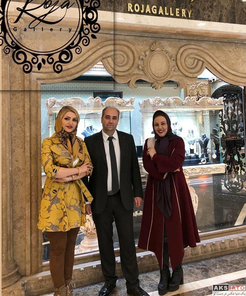 بازیگران بازیگران زن ایرانی  بهنوش بختیاری در فروشگاه جواهرفروشی اش (4 عکس)