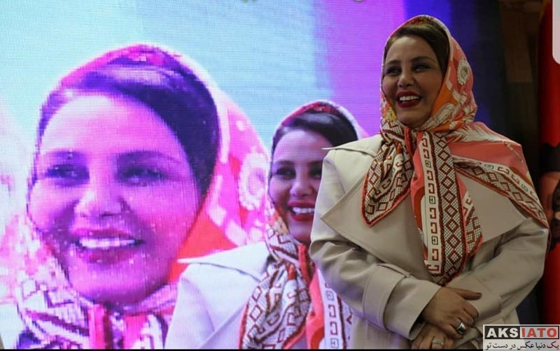 بازیگران بازیگران زن ایرانی  بهنوش بختیاری در مهمانی حمید سپیدنام (4 عکس)