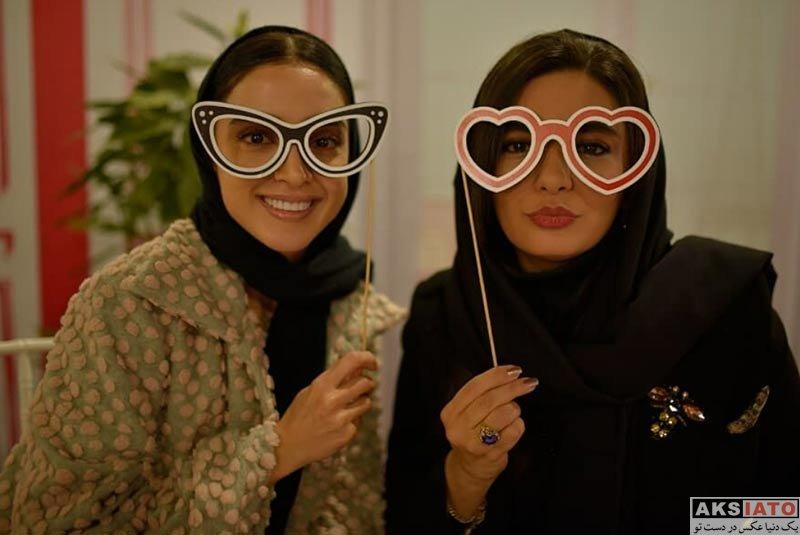 بازیگران بازیگران زن ایرانی  الهه حصاری و لیندا کیانی در مراسم برند بورژوا (3 عکس)