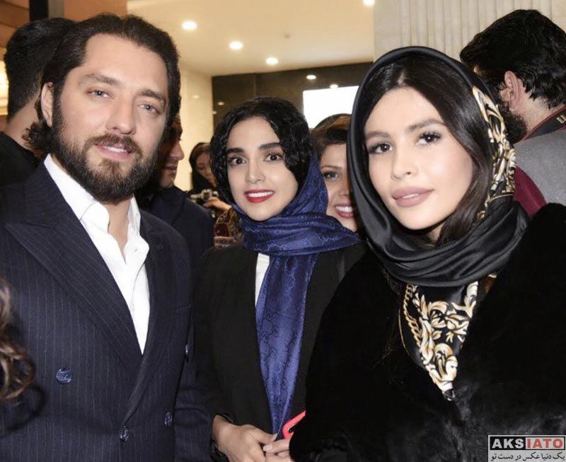 بازیگران بازیگران زن ایرانی  الهه حصاری در افتتاحیه مرکز خرید گالریا (3 عکس)