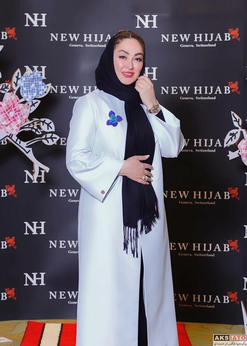 بازیگران بازیگران زن ایرانی  الهام حمیدی در ایونت فروشگاه حجاب استایل (۲ عکس)