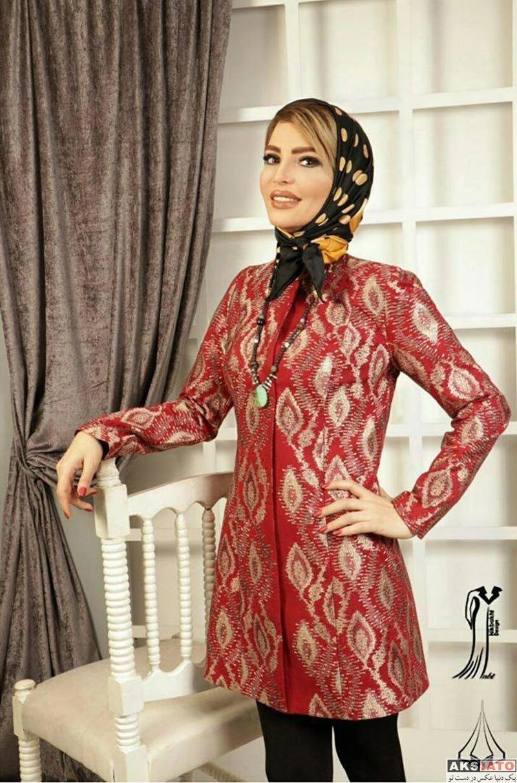 بازیگران بازیگران زن ایرانی  عکس های مدلینگ فریبا آهنگ برای برند مزون نیکبخت (6 عکس)