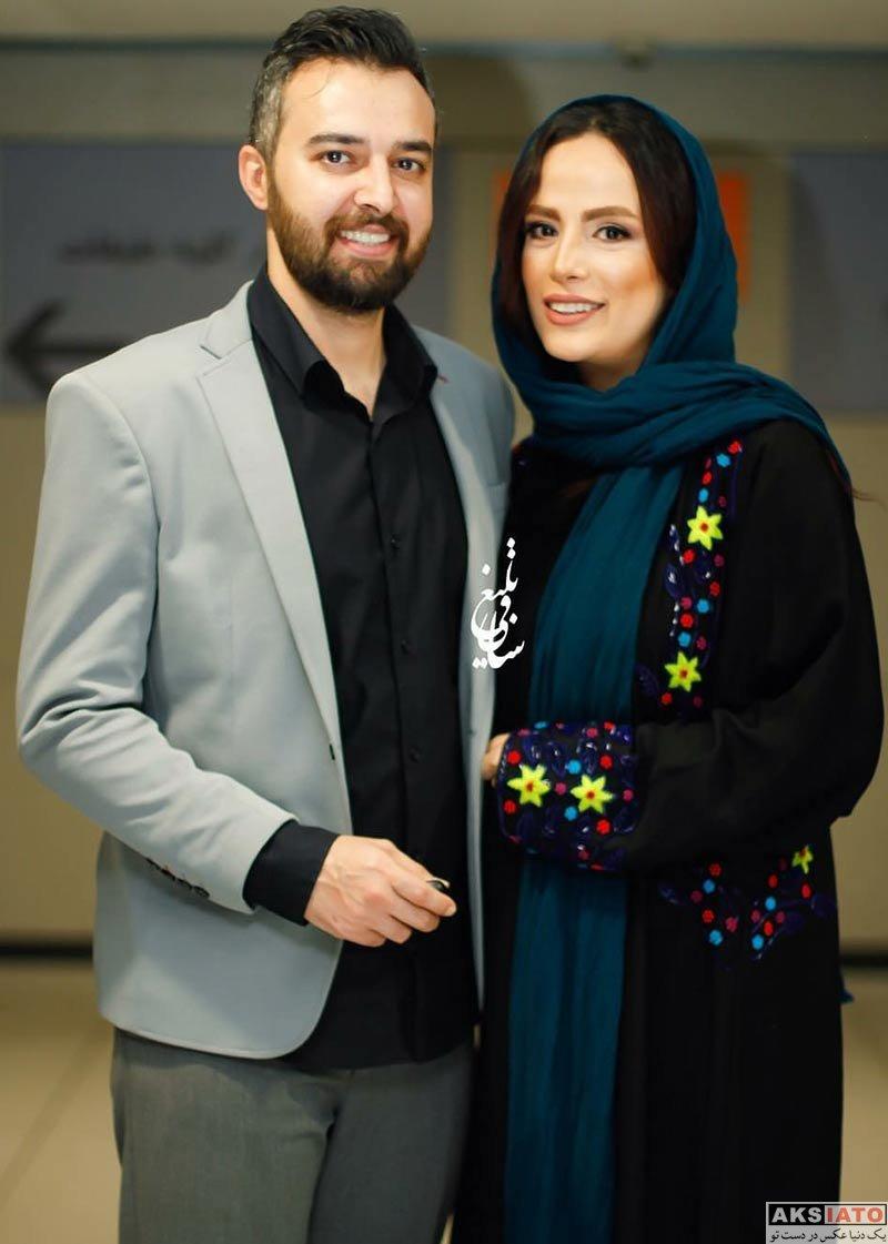 جشنواره جهانی فیلم فجر  فرشته آلوسی و همسرش در جشنواره جهانی فیلم فجر (3 عکس)
