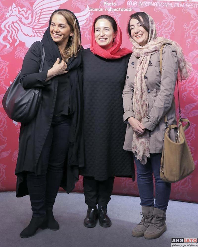 جشن منتقدان و نویسندگان  هانیه توسلی در سی و ششمین جشنواره جهانی فیلم فجر (5 عکس)