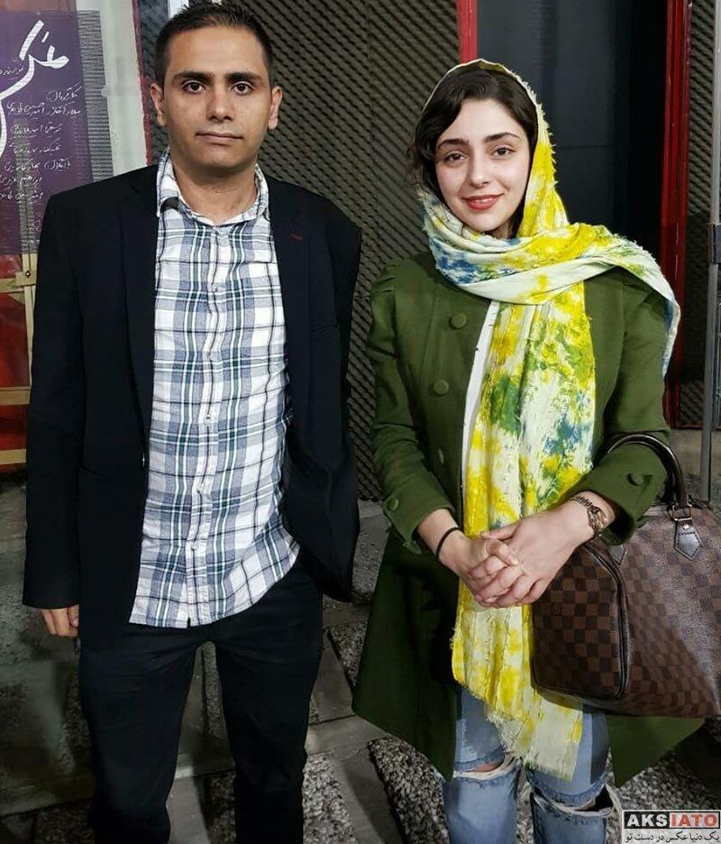 بازیگران بازیگران زن ایرانی  عکس های هستی مهدوی در فروردین ماه ۹۷ (8 تصویر)
